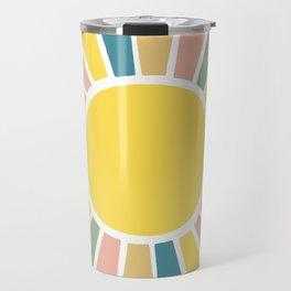 Retro Sunshine Travel Mug