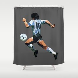 El Diez Shower Curtain