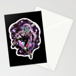 Moon Warrior Stationery Cards