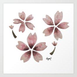 Spring Sakura 2018 Art Print