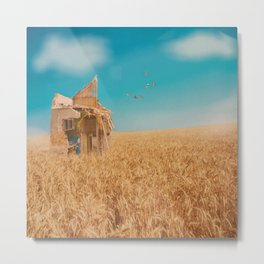 day in the field Metal Print