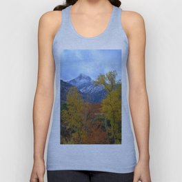 Fall mountains. Misty Trevenque Unisex Tank Top