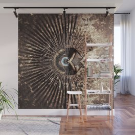 Geometric Art - WITHERED Wall Mural