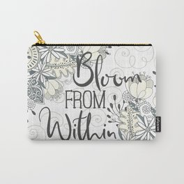 Bloom From Within Carry-All Pouch
