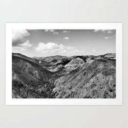 Boney Trail 3 Art Print