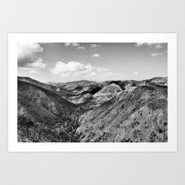 Boney Trail 3 Art Print
