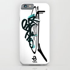 3d graffiti - ondbiqp iPhone 6s Slim Case