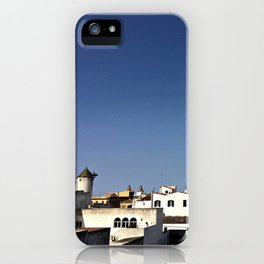 Spanish Island Village iPhone Case