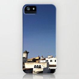 Spanish Island Village iPhone Case