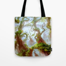 Wooded Foothills Tote Bag