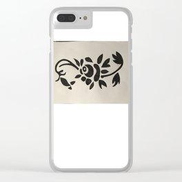 Lieve vallentyn Clear iPhone Case