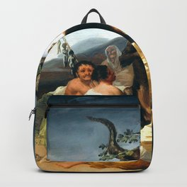 """Francisco Goya """"The Sabbath of witches"""" Backpack"""