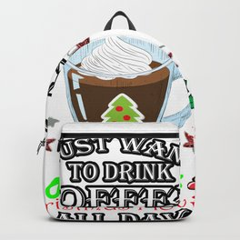 This Is My HallMark Christmas Movie Watching Shirt Backpack