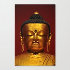Visiting Buddha Canvas Print