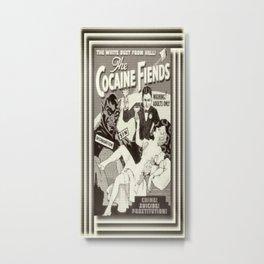 the cocaine fiends (vintage) Metal Print