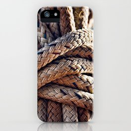 Nautical Knots iPhone Case