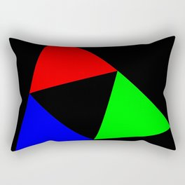 Triangles in a Square Rectangular Pillow