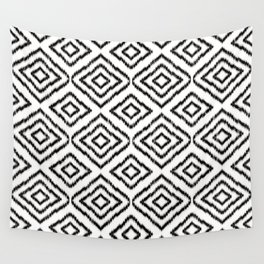 Sumatra in Black and White Wall Tapestry