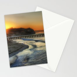 Photos Rays of light Los Angeles USA Santa Monica  Stationery Cards