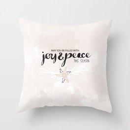 Joy & Peace Throw Pillow