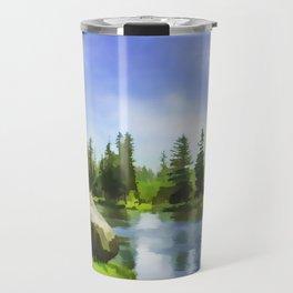Yellowstone River Travel Mug