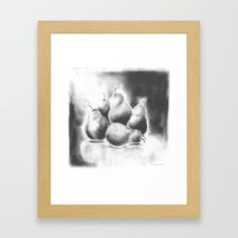Pairs of Pears Framed Art Print