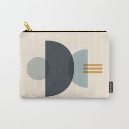 Sapphire Abstract Half Moon 3 Carry-All Pouch