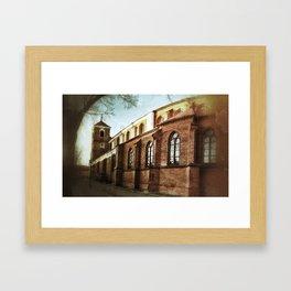grunchurch Framed Art Print