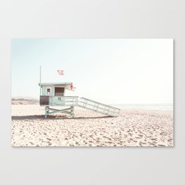Somewhere in Cali Canvas Print