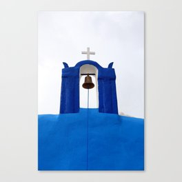 Bell tower - Santorini Leinwanddruck