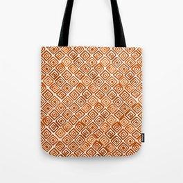 Watercolor Triangles (Orange) Tote Bag