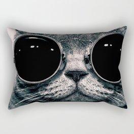 Cool Cat Rectangular Pillow
