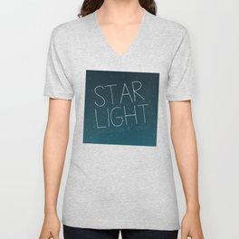 STAR LIGHT WATCH OVER ME TONIGHT Unisex V-Neck