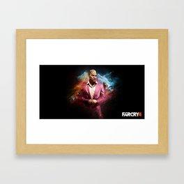 Pagan Min - Far Cry 4 Framed Art Print