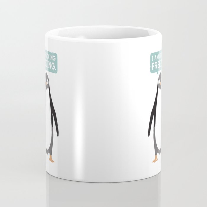 Talking Penguin Coffee Mug