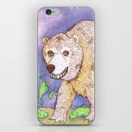 Hungry Bear iPhone Skin