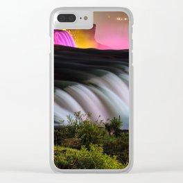 NIAGARA FALLS 11 Clear iPhone Case