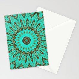 Kaleido in Oxidized Copper Stationery Cards