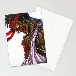 Zombie Ryu Stationery Cards