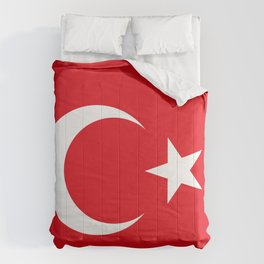 Flag of Turkey - Turkish Flag Comforters