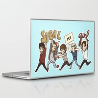 kendrawcandraw Laptop & iPad Skins featuring Everybody Wanna by kendrawcandraw