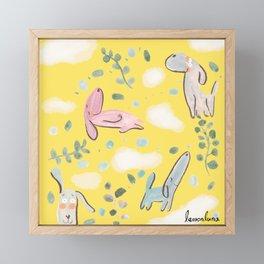cozy sunday mood Framed Mini Art Print