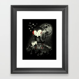 Owl the Night Framed Art Print