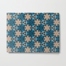 Snapdragon Synapse - Organic Abstract Pattern Metal Print
