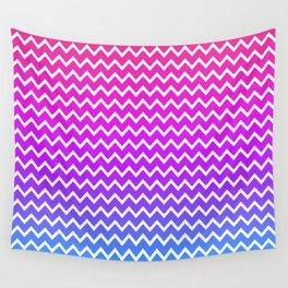 Rainbow Chevron Wall Tapestry