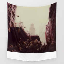 Downtown Chicago Wall Tapestry