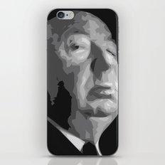 Alfred Hitchcock iPhone & iPod Skin