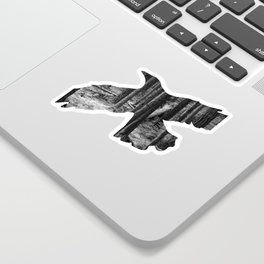 Fly Free Sticker