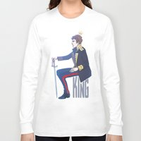 benedict cumberbatch Long Sleeve T-shirts featuring Benedict Cumberbatch - Hamlet by enerjax