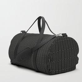sewing pinstripe Duffle Bag